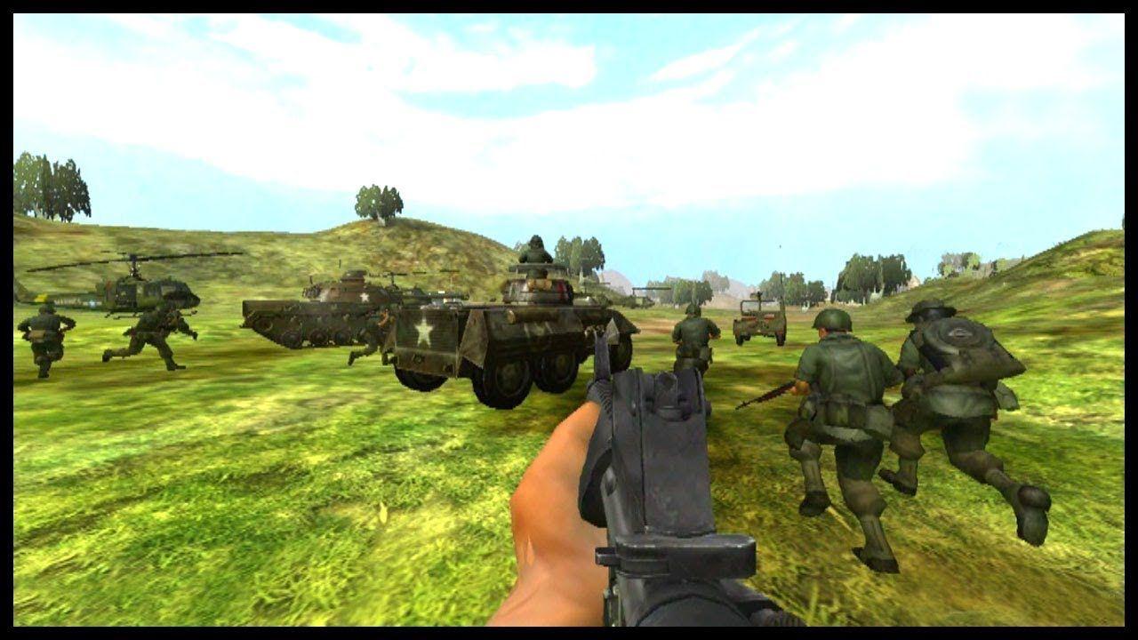 TESTING NEW MAP - Delhi River - Battlefield 2 - Vietnam War