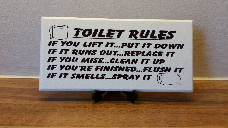 Superieur Funny Bathroom Signs   Home Decor Ideas