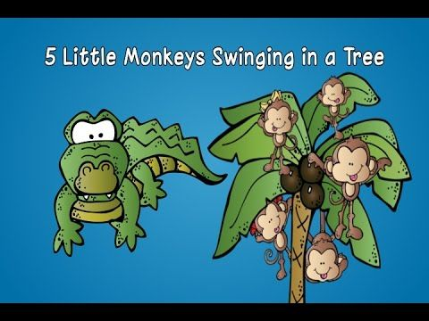 Singing and swinging to the monkey