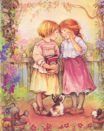 De todas as flores que colhemos nos campos, a Amizade é o único sentimento que os ventos podem soprar, mas, suas pétalas jamais cairão.  Bia Cogan