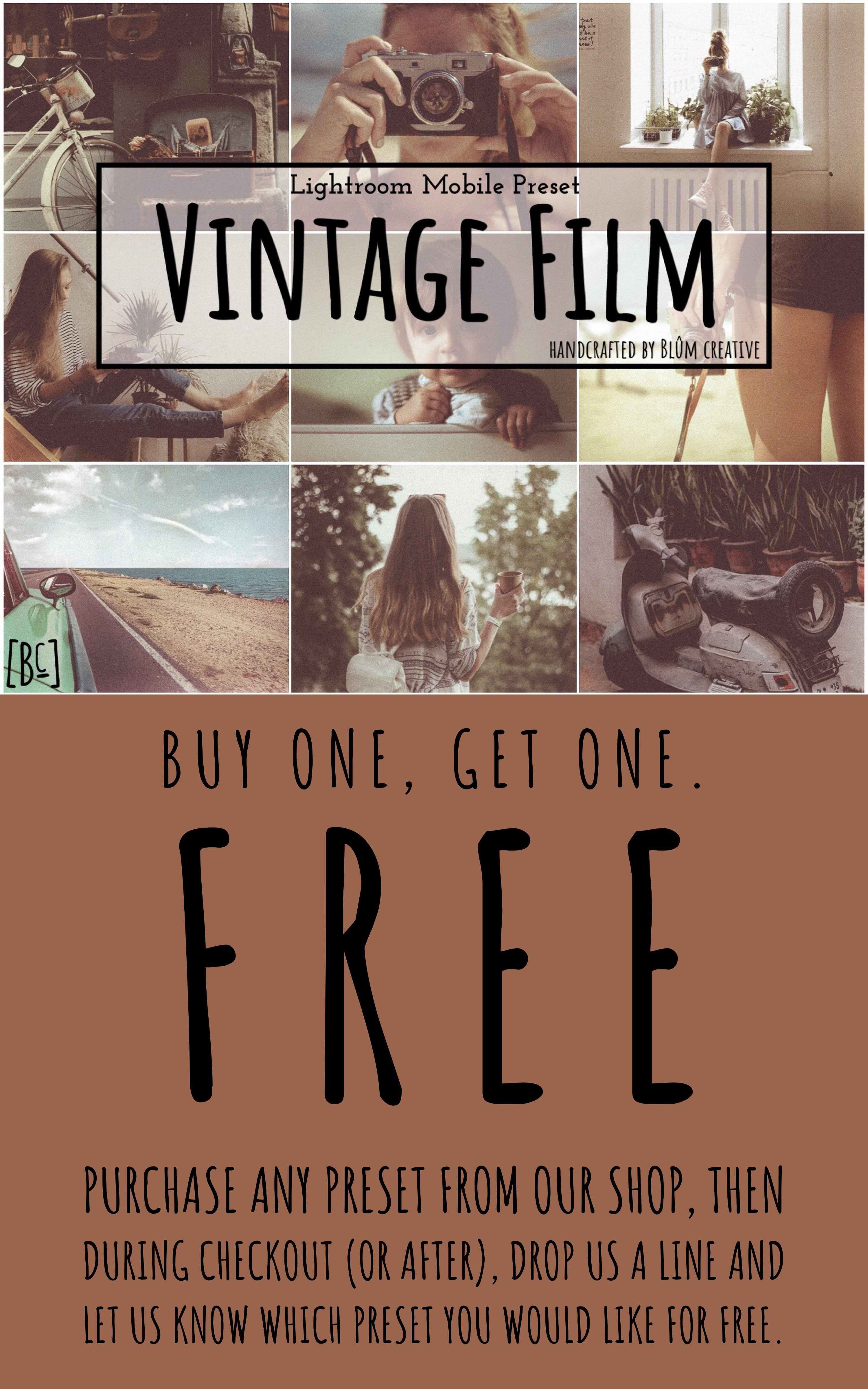 3 Lightroom Mobile Presets Vintage Film Portrait Presets For Etsy Portrait Presets Vintage Film Lightroom