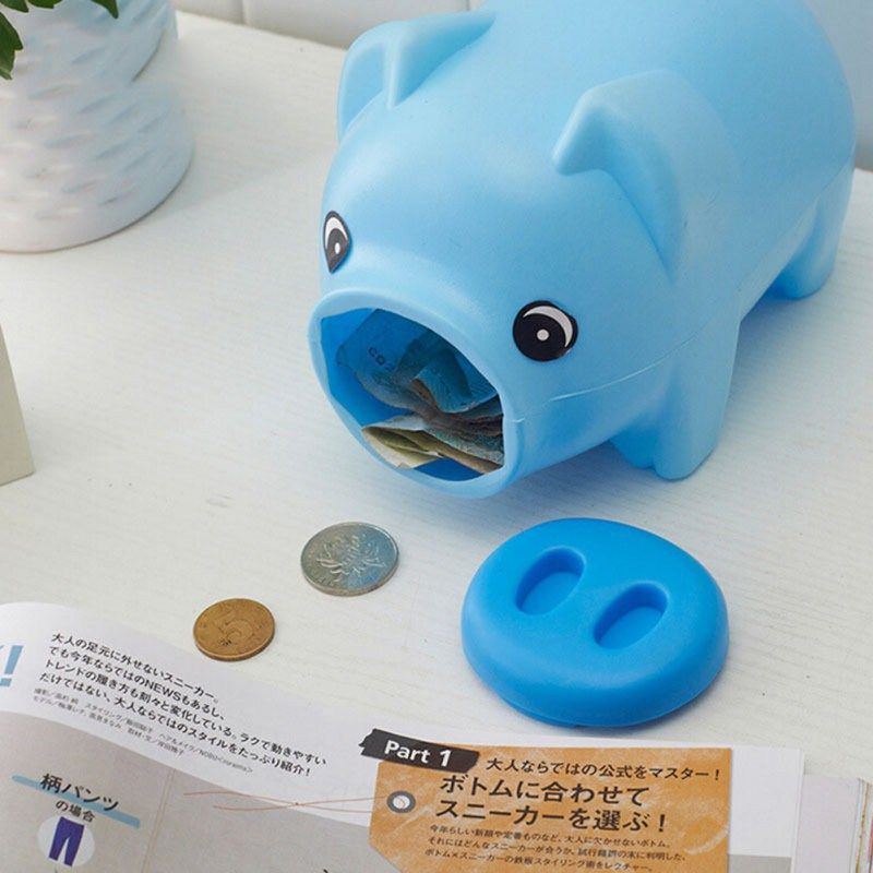 Cute Portable Plastic Piggy Bank Saving Cash Coin Money Box Children Toy Kids Gifts Home Collection 3 Colors //Price: $5.95 & FREE Shipping //     #hashtag4