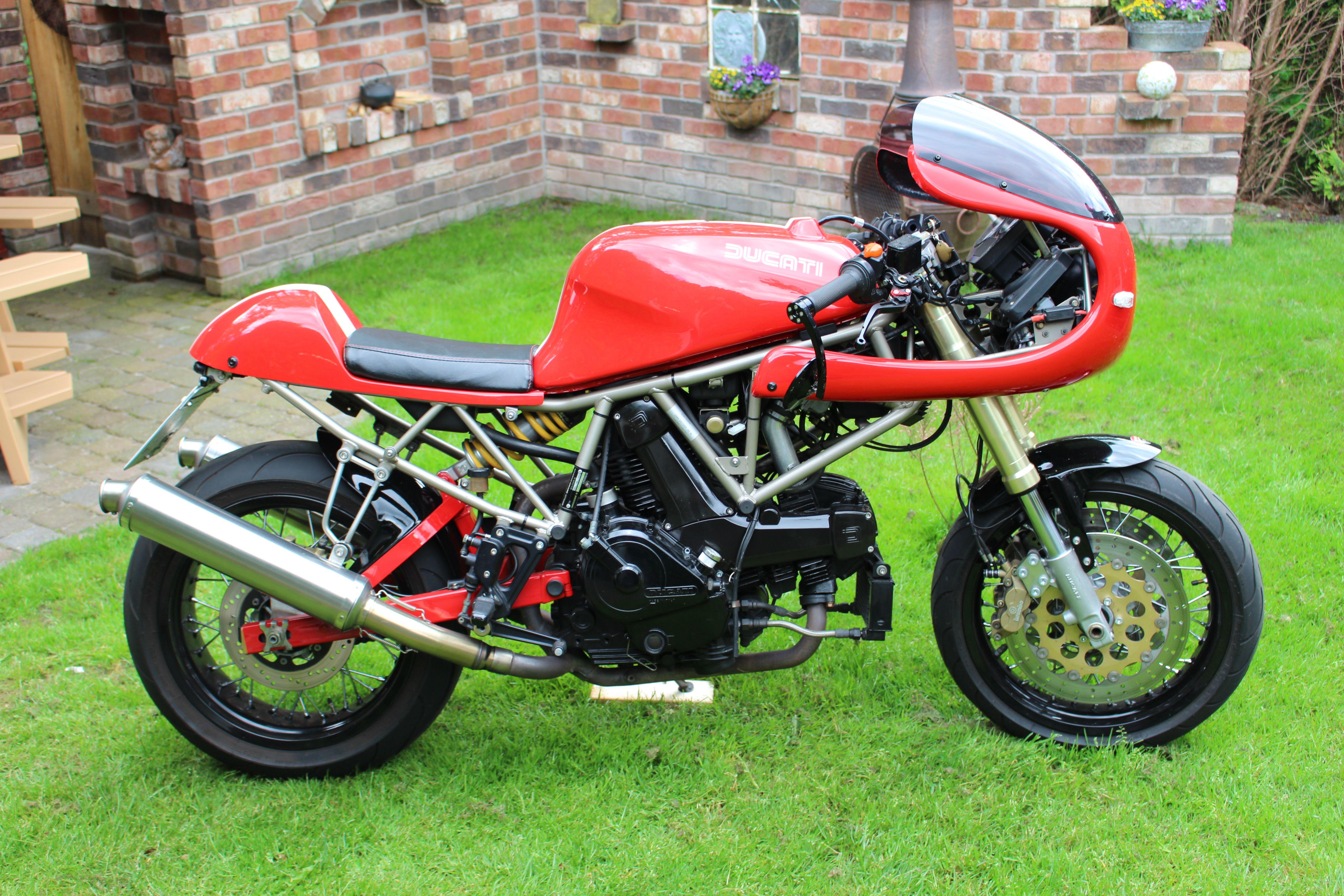 Ducati 750 SS ie - CRASH - - 2000 - Ikke andet end at jeg