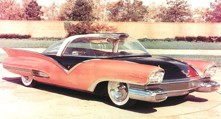 Strange olde concept cars 1955 ford mystere concept car for Client mystere garage automobile