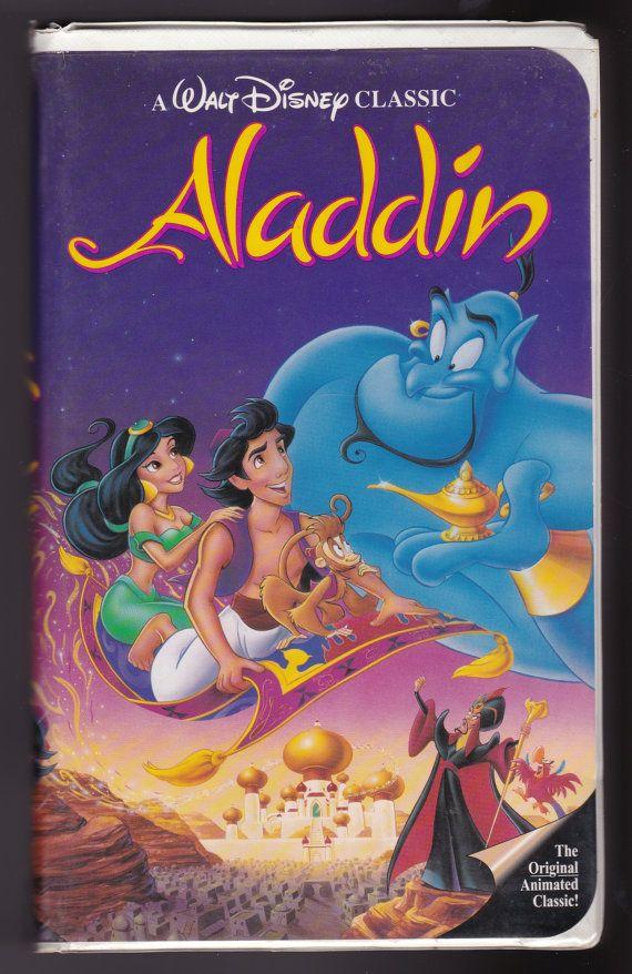 Aladdin - Walt Disney Classics Collection AKA Black Diamond - VHS Tape