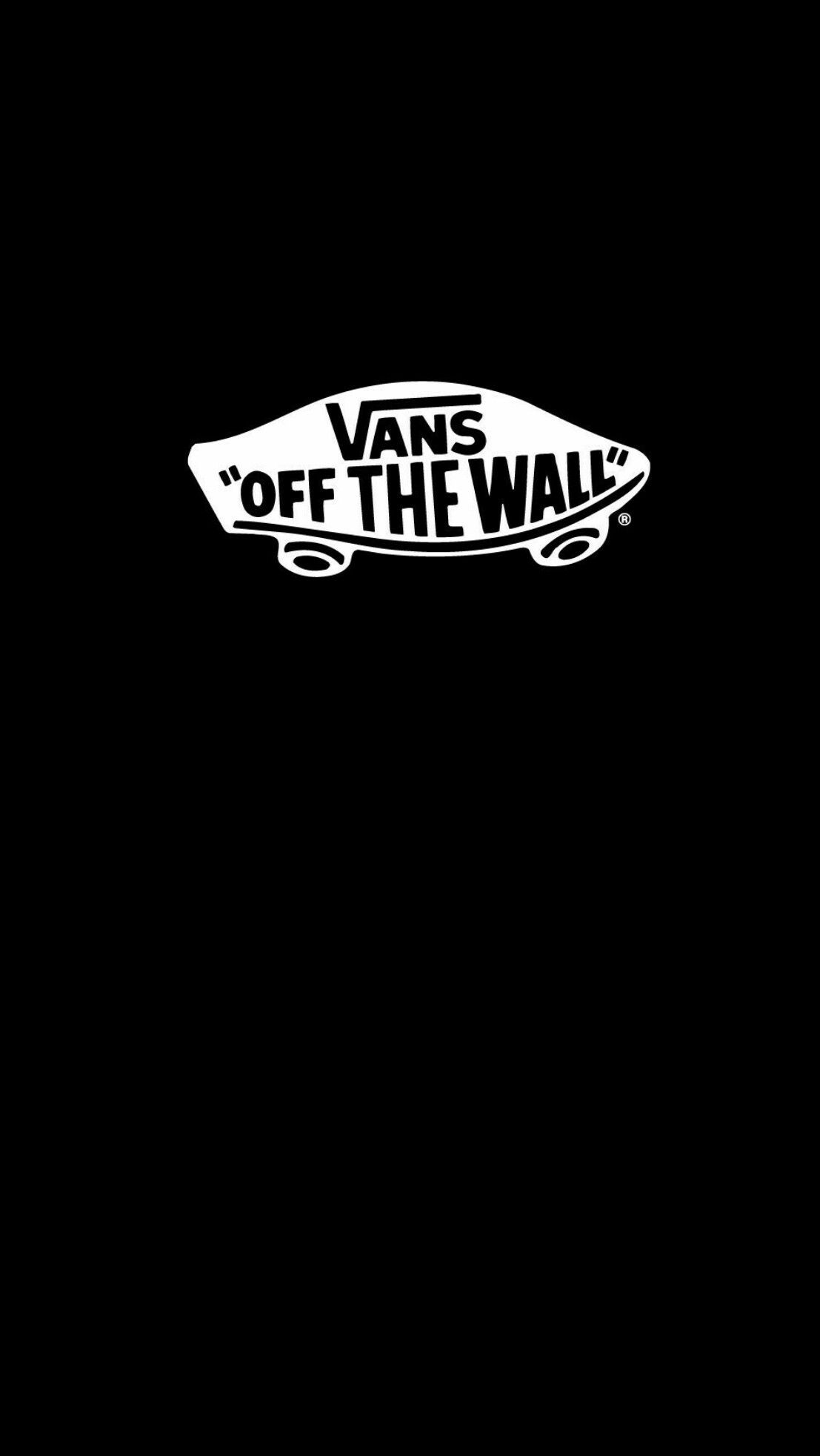 Vans Black Wallpaper Iphone Android With Images Iphone