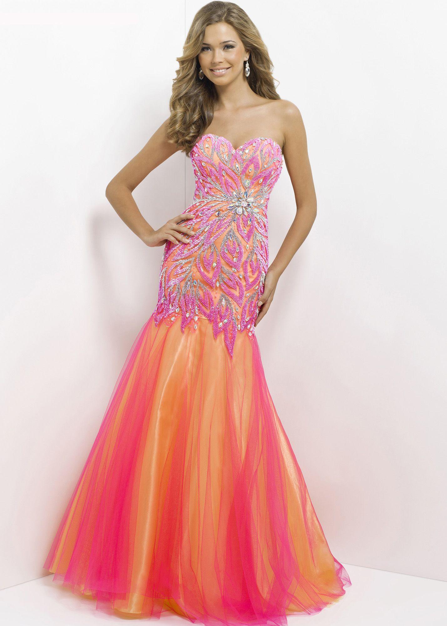 Blush Prom 9722 Strapless Evening Gown | Cute | Pinterest | Vestidos ...