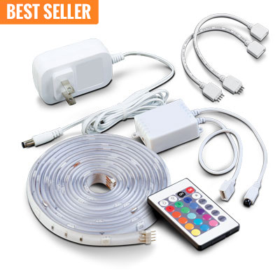 Led11360 color changing led rope string tape led at batteries led11360 color changing led rope string tape led at batteries plus bulbs aloadofball Choice Image