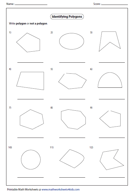 Identify Polygon Or Not A Polygon Geometry Polygons
