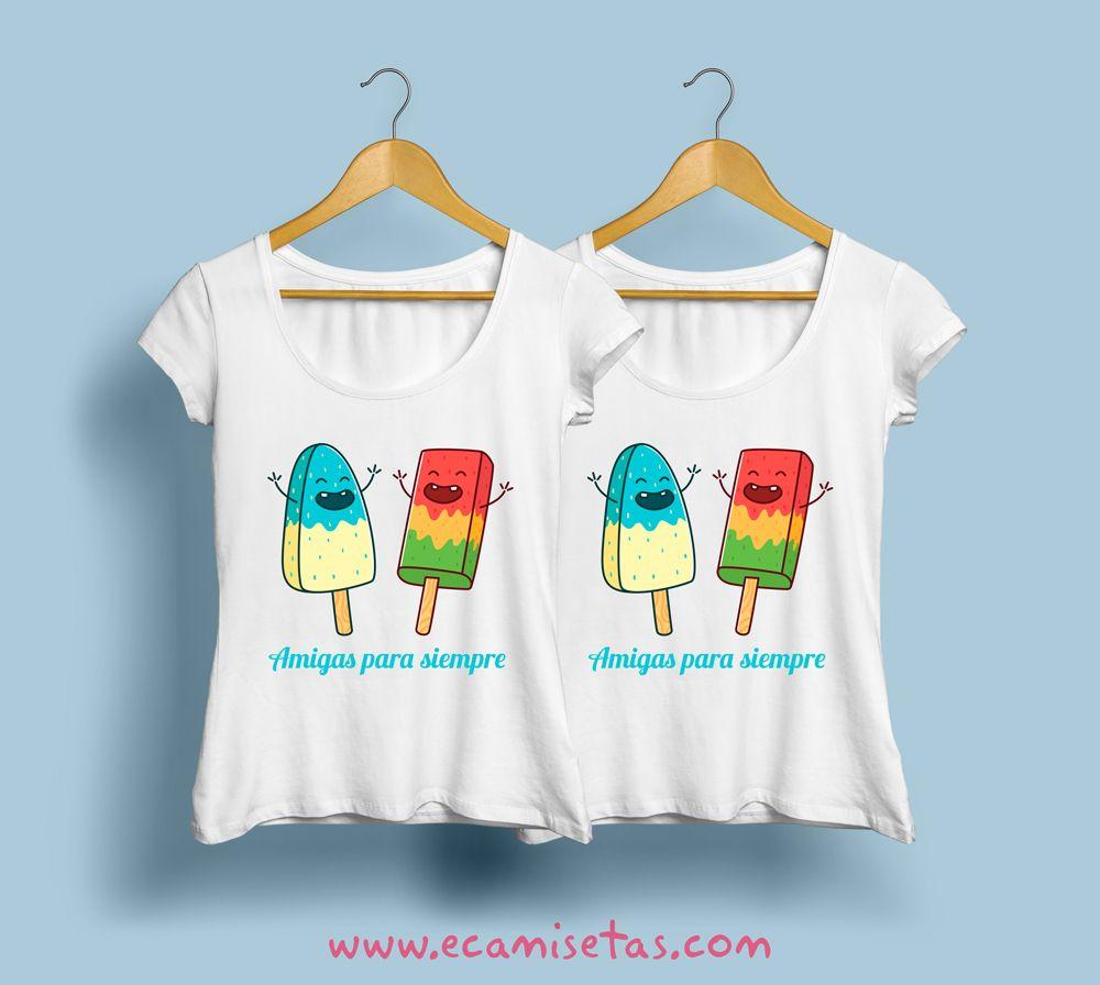 Camisetas personalizadas verano amiga  7e60b3f2ff568