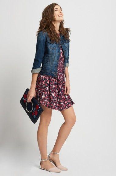 Sukienka-tunika w kwiaty | ORSAY