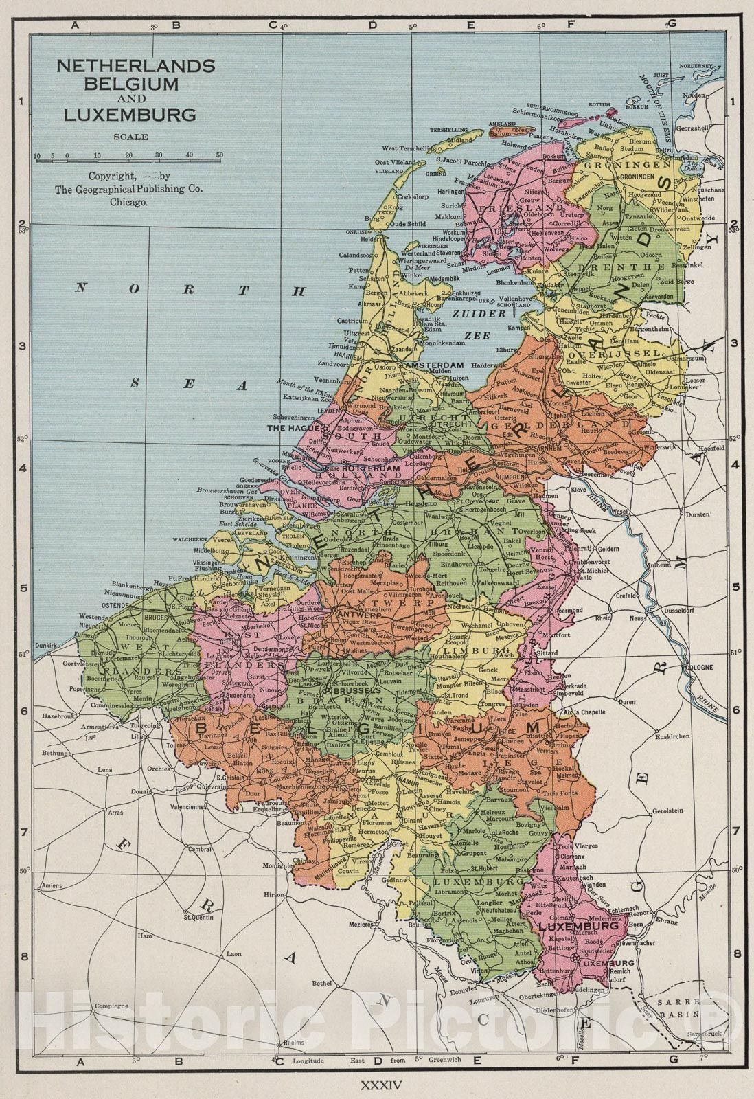 <p>Netherlands, Belgium, and Luxemburg., 1925</p>