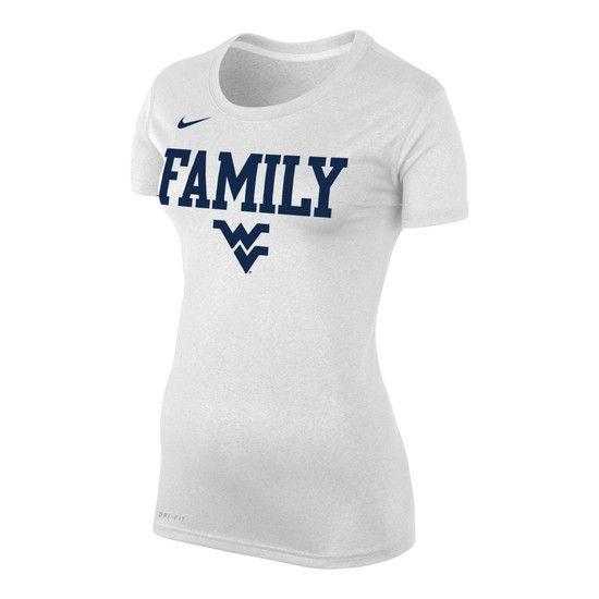 90fa9f08d Nike WVU Family Women s Legend Tee in 2019