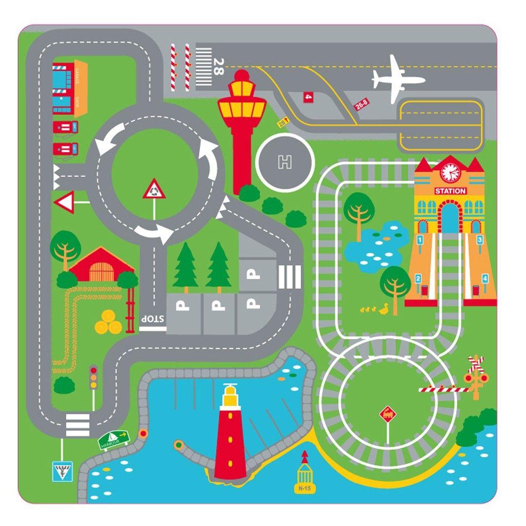 Pop Up Transport Playmat An Ideal Present For Kids Age 6