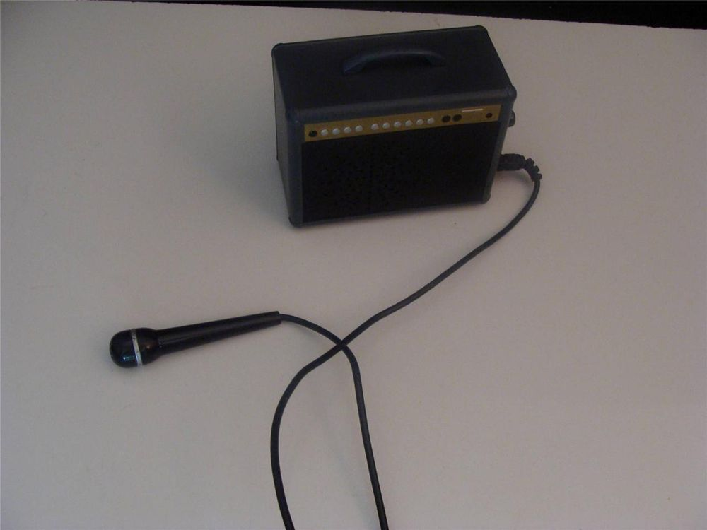 Battat Miniature Doll House Amplifier with working Microphone Mini ...