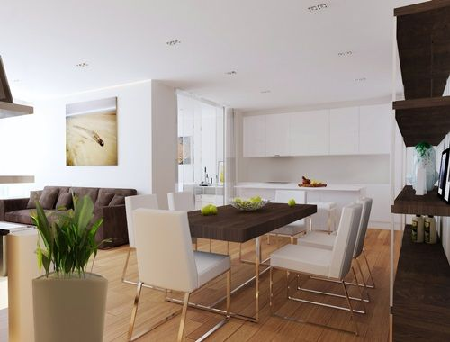 Perfect Ways To Decorate A Living Room With A Dining Area Attached Magnificent Small Space Kitchen Living Room Design Decorating Design
