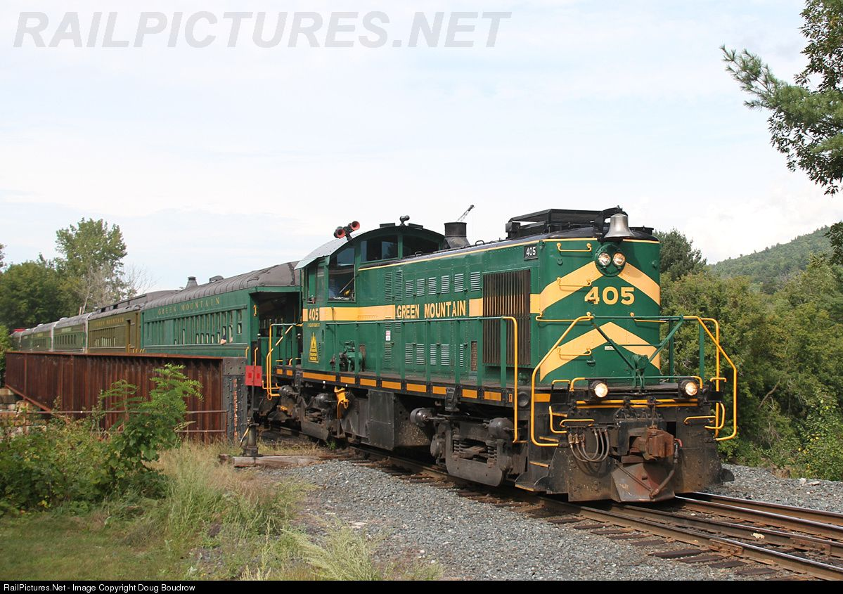 GMRC 405 Green Mountain Railroad Alco RS1 at White River