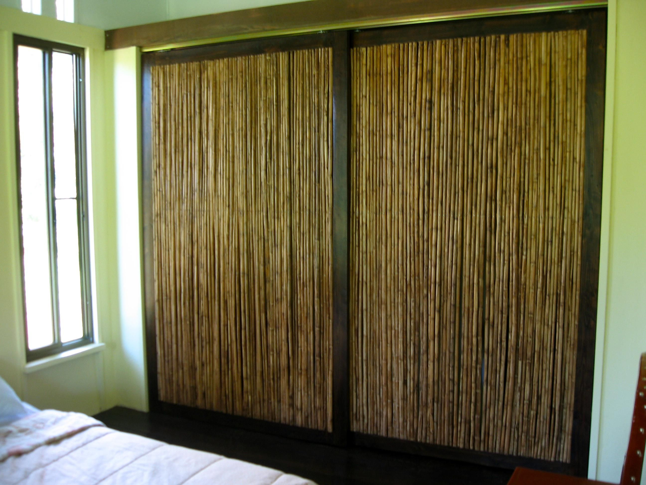 Ideas Cool Bamboo Closet Doors Create A New Look Bamboo Curtains pertaining  to proportions 926 X