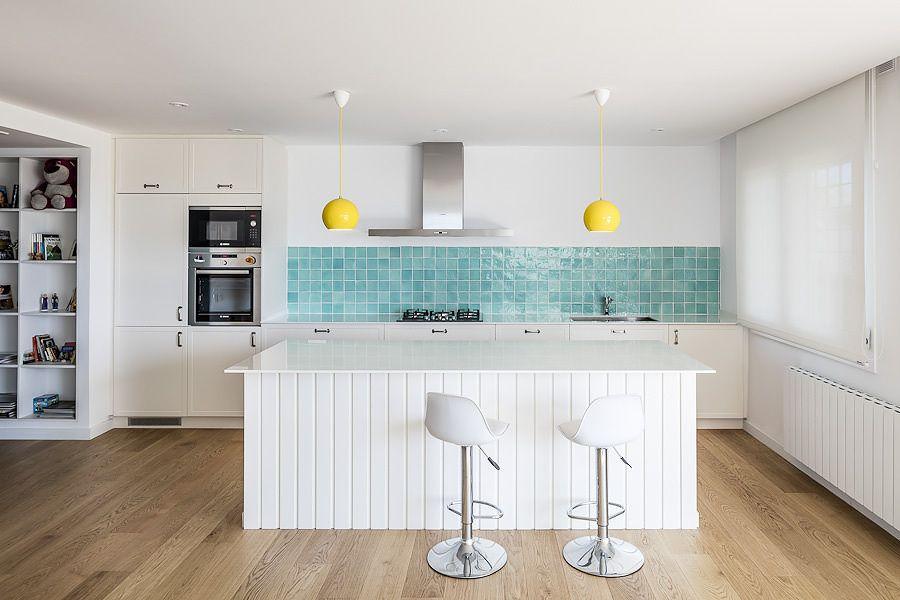 Resultado de imagen de azulejos cocina Küche Pinterest White
