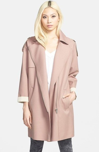 6906cc763 GLAMOROUS Zip Front Trench Coat #pink #trenchcoat #trench #coat ...