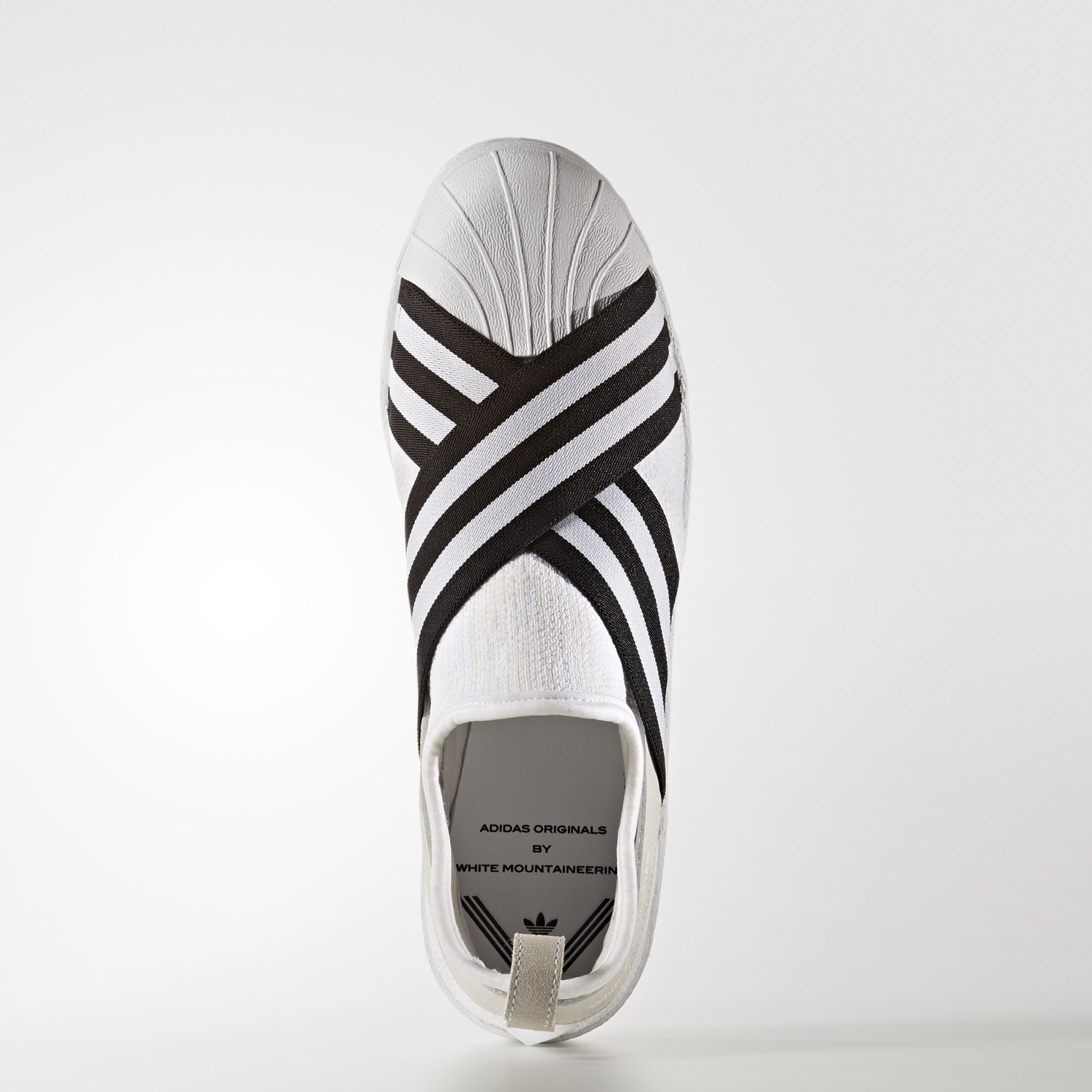 adidas Blanc Mountaineering Primeknit Superstar Slip On Chaussures