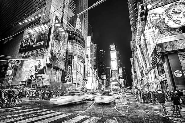 Papier Peint New York by night