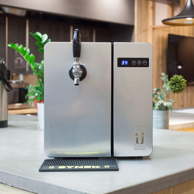 Synek Beer Dispenser 2 Growler Adapters Silver Beer Dispenser Beer Beer Taps