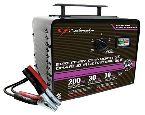 Schumacher Battery Charger Manual >> Schumacher Sf 200 30 6 12v Manual Bench Top Battery Charger