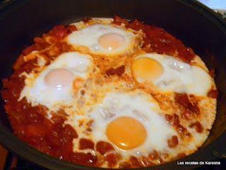 Huevos dejados caer