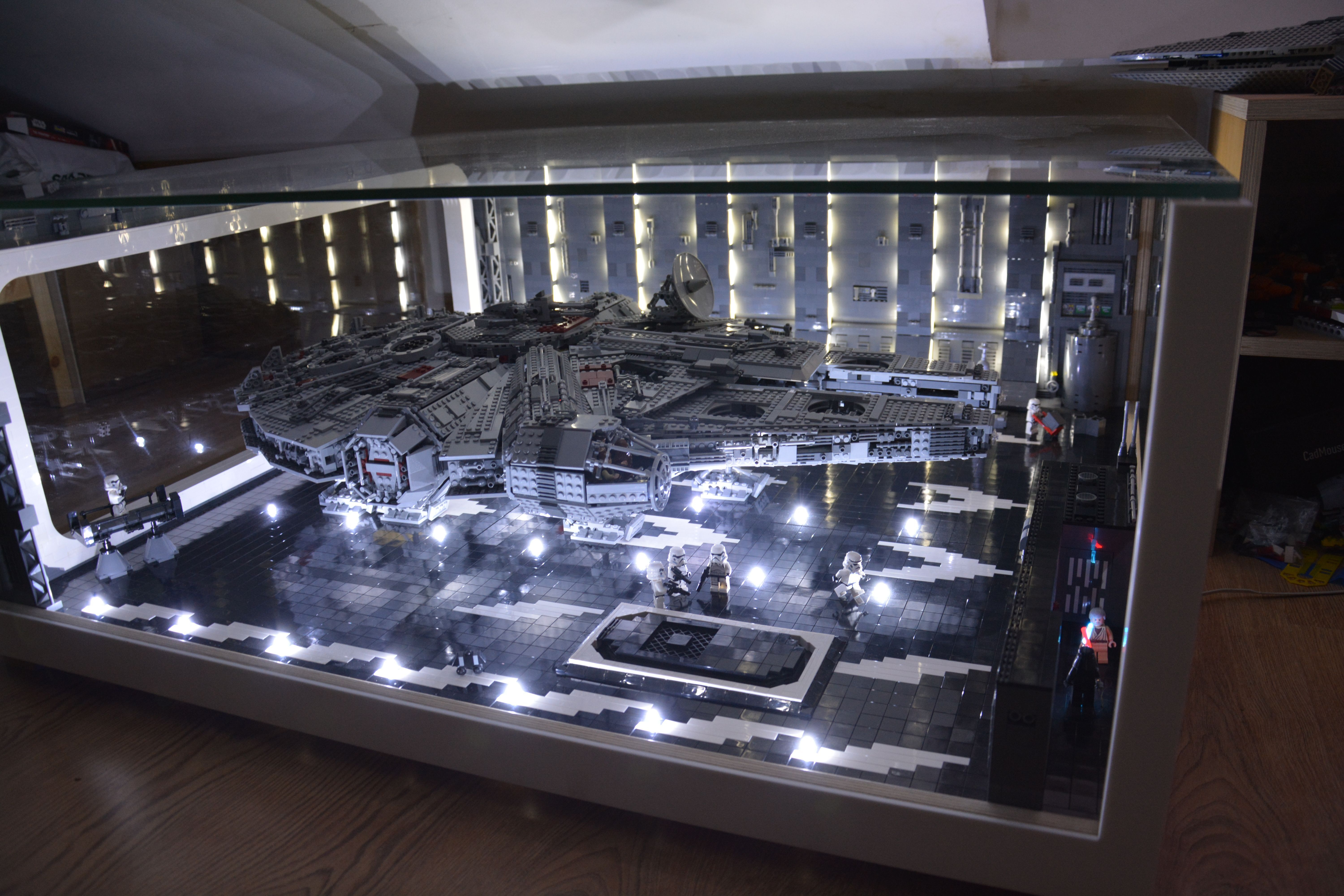 Pin By Chase Hervey On Star Wars Diorama In 2020 Star Wars Room Lego Display Star Wars Decor
