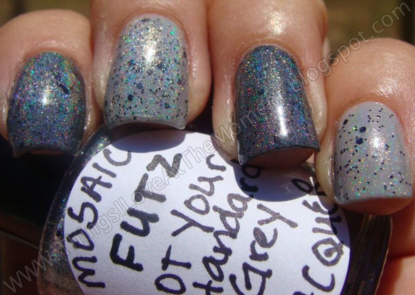 Things I Love At the Moment: Mosaic Lacquer Futz-Not Your Standard Grey!