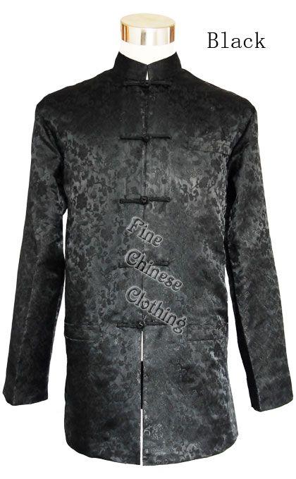 9a58a3984 FINE CHINESE CLOTHING - Men Jackets - Men's Mandarin Jacket - Wedding White