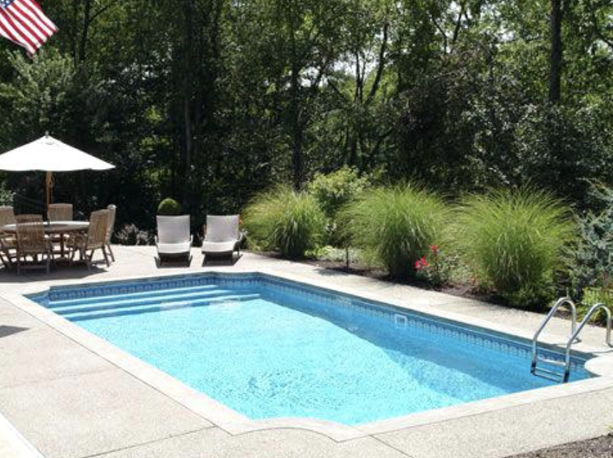 A Mini Pool Is Quickly Set Up Often Surprisingly Cheap And The Suitable Uncomplicated Filter Technol In 2020 Backyard Pool Landscaping Pool Landscaping Backyard Pool