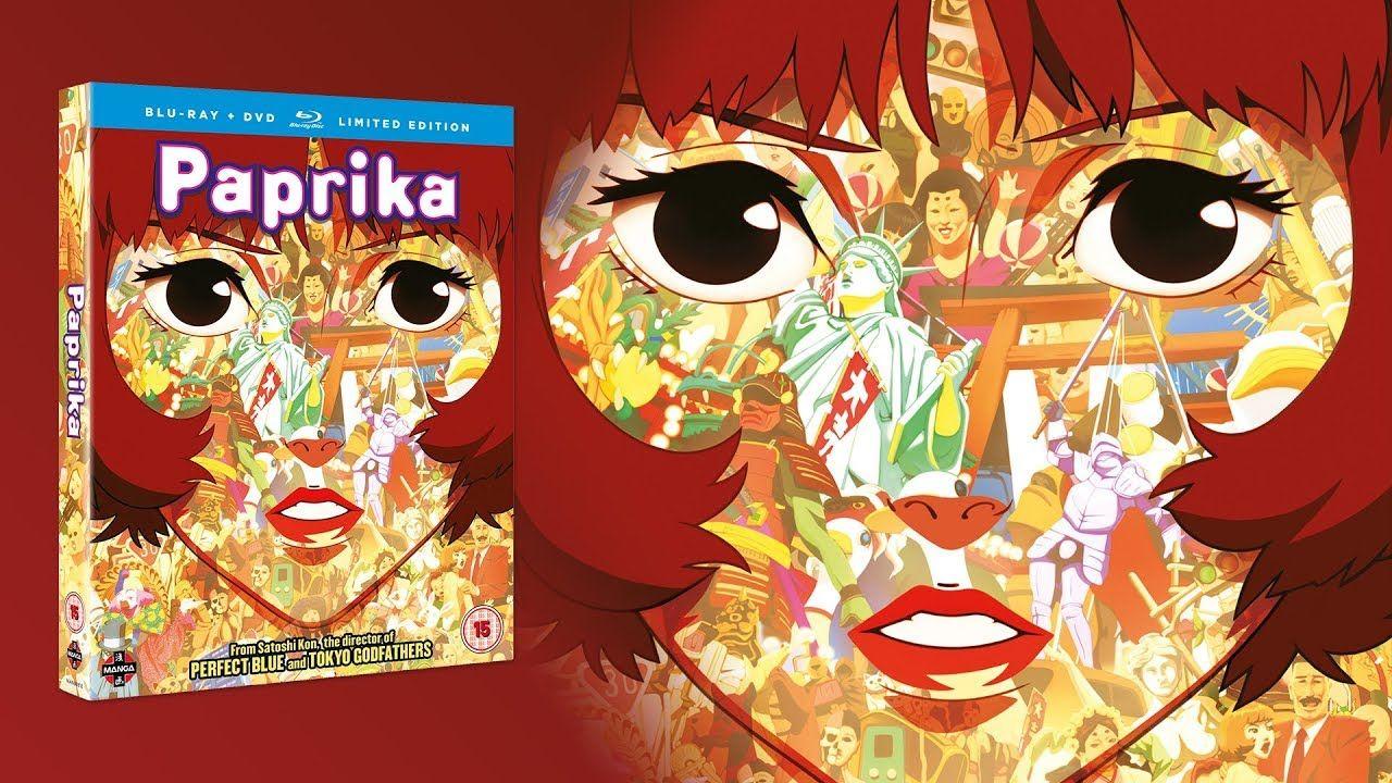 Paprika Trailer Anime, Satoshi kon, Anime movies
