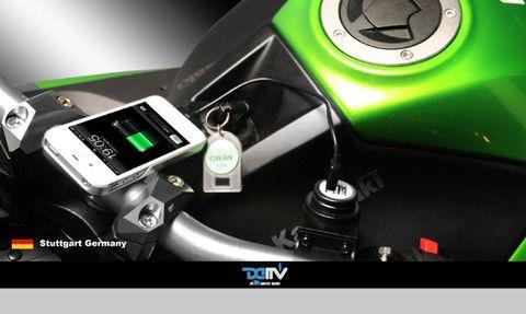 USB Power Supply Kit | Kawasaki ER6N | Usb, Motorbikes, Kit