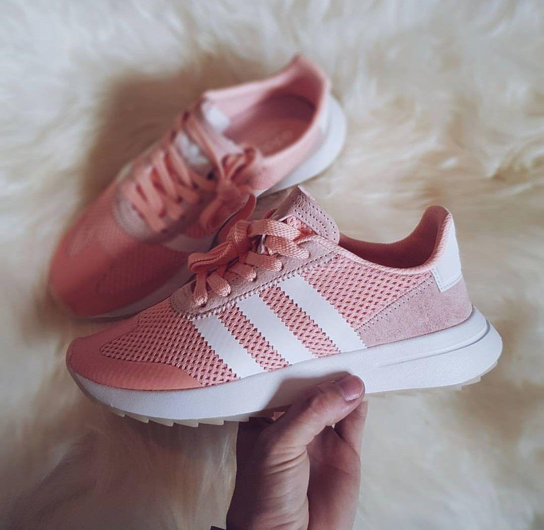 adidas rosa weiß