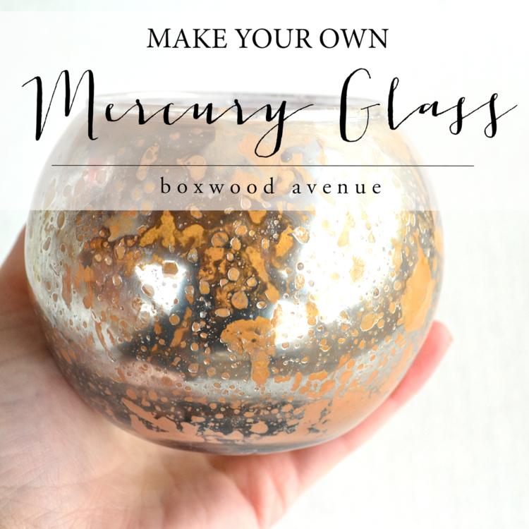 How To Make Your Own Mercury Glass Mercury Glass