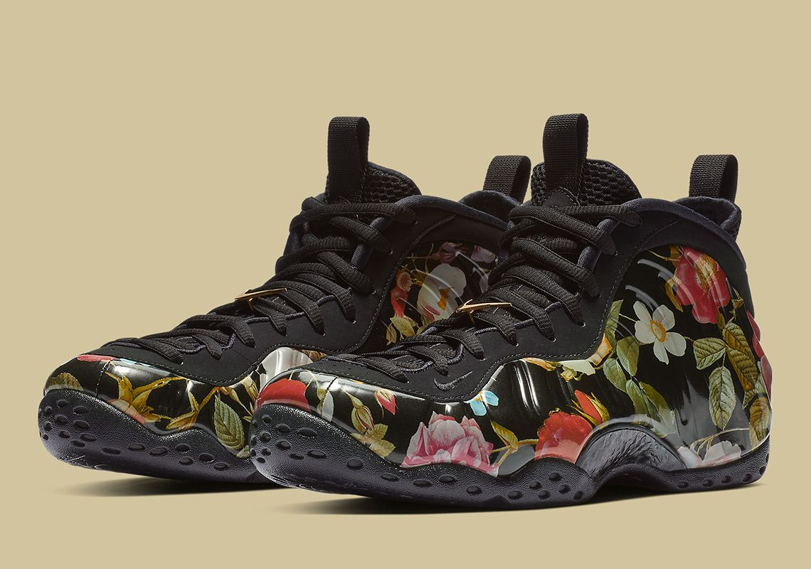 first rate 50a3f b6970 feature image Foam Posites, Nike Foamposite, Nike Air, Sneakers, Floral,  Shoes