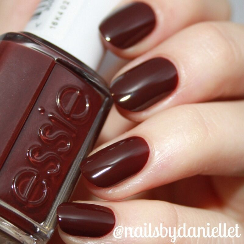8 50 Essie Chocolate Cakes Nails In 2019 Brown Nails
