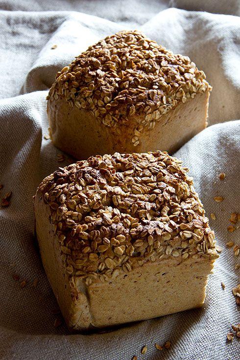 Roggenmischbrot Mit Hafer Brot Brot Brot Backen Brot Selber Backen
