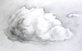 облака карандашом картинки