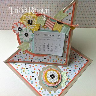 Sale-A-Bration 2014 Easel Calendar With A Twist (via Bloglovin.com )