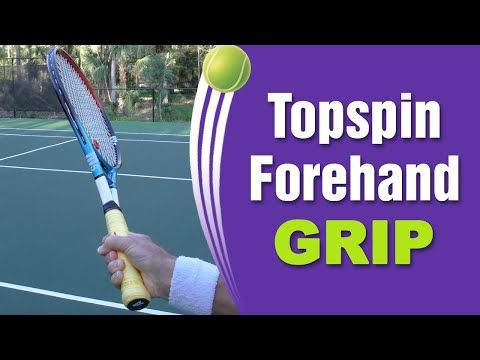 Best Tennis Forehand Topspin Grip Tennis Tennis Forehand Tennis Techniques