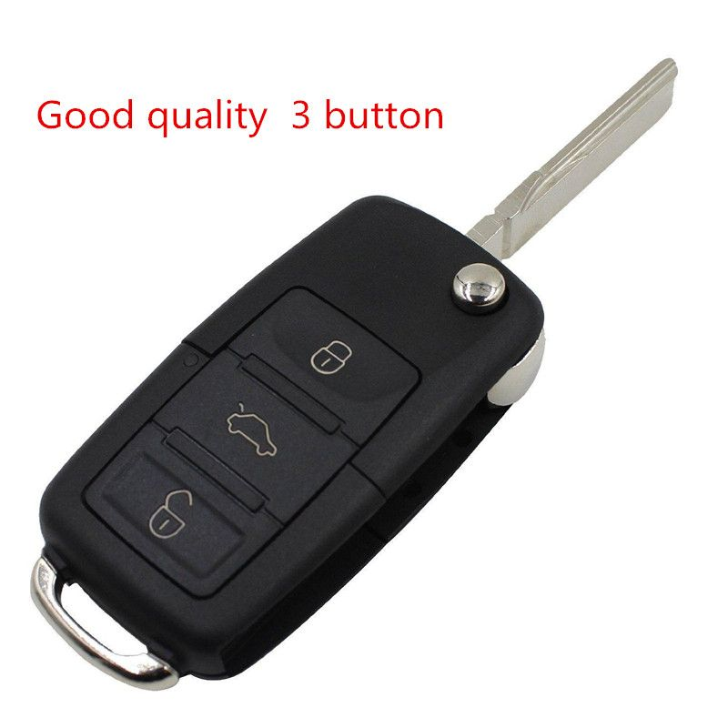Replace Flip Remote Key Shell fit for VOLKSWAGEN VW Jetta