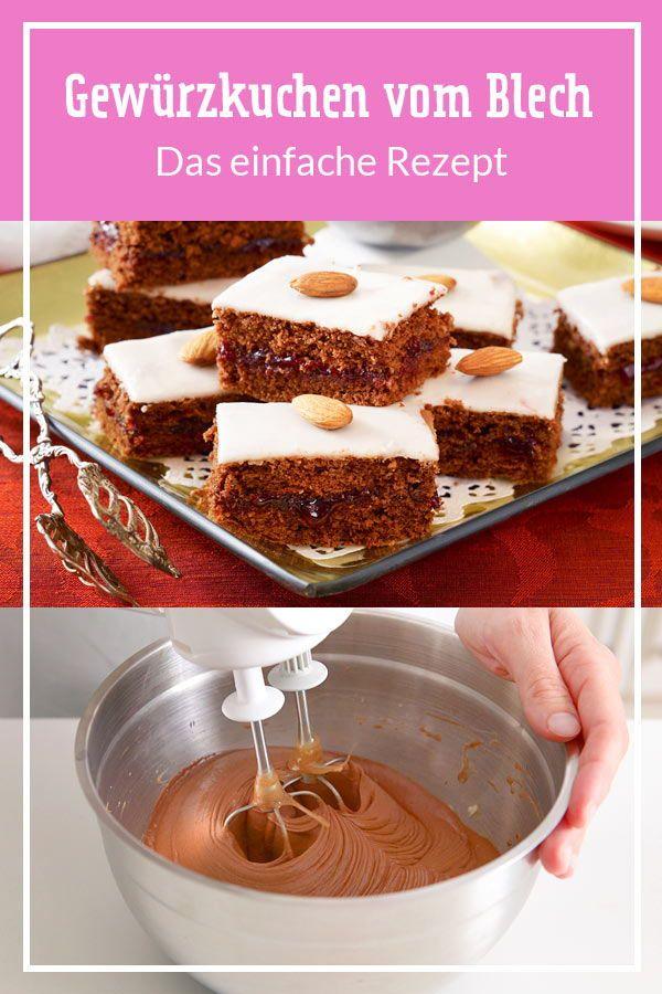 Gewürzkuchen vom Blech - das einfache Rezept| LECKER #weihnachtskuchenrezepte