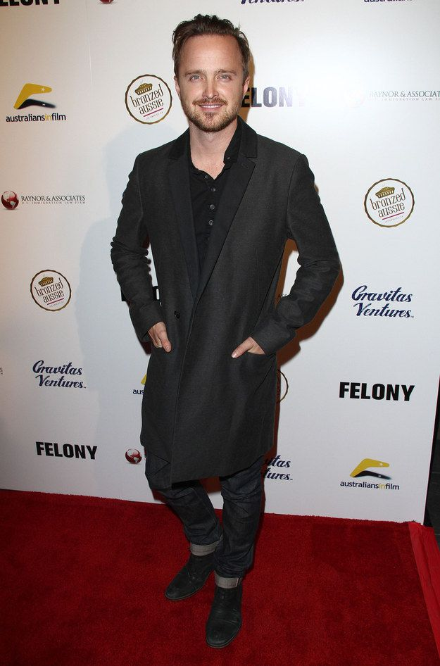 "Aaron Paul At The LA Premiere Of ""Felony"" 