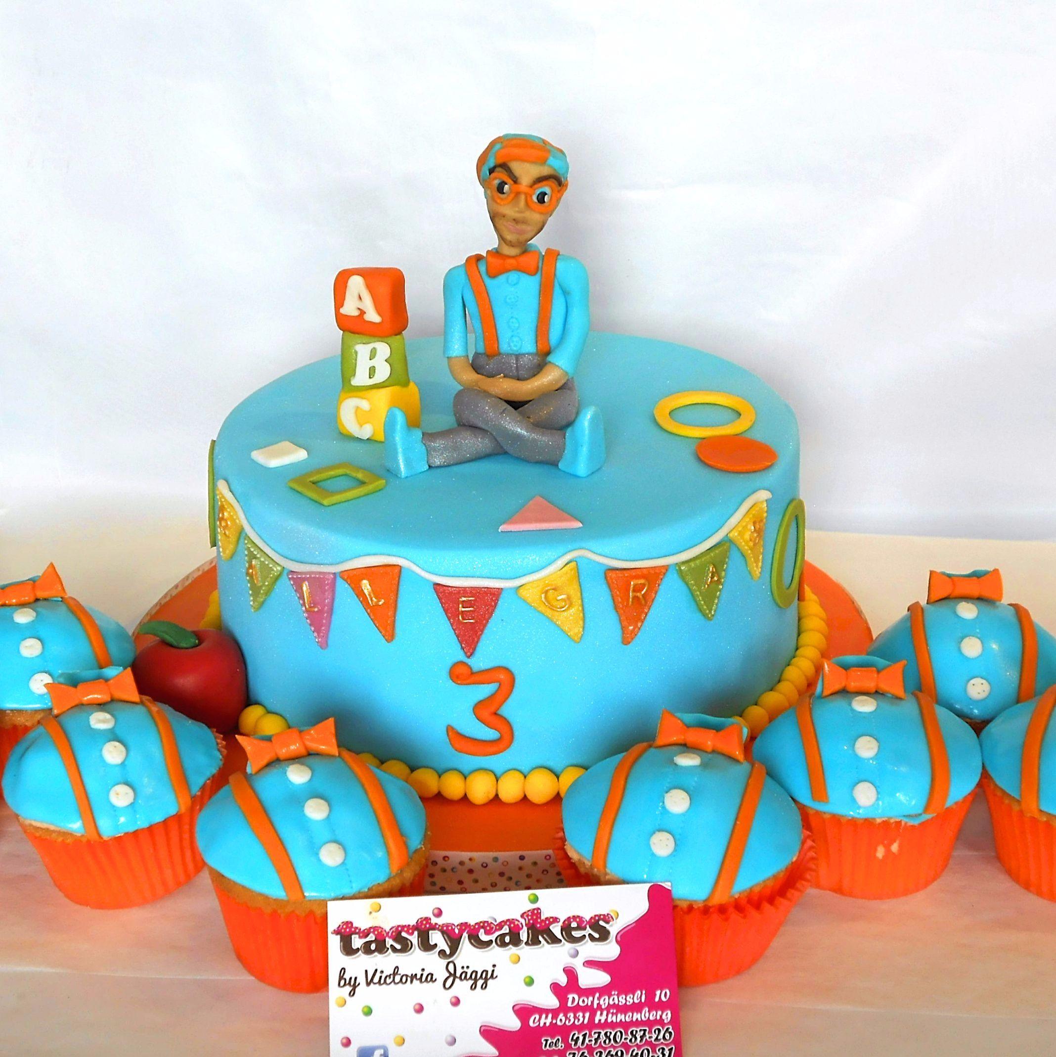 Blippi Birthday Cake Blippi Blippi Cake