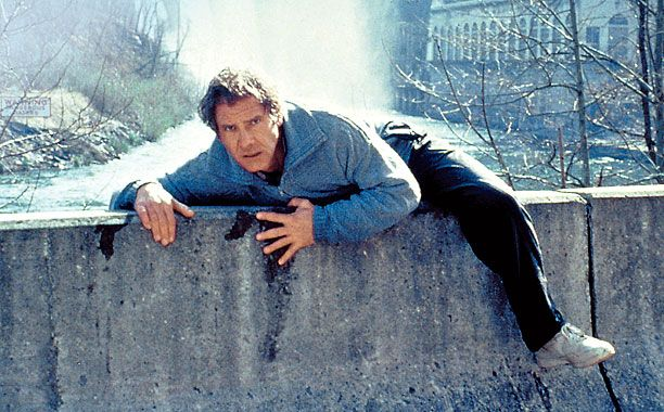 WANTED MAN Harrison Ford stars as a doctor wrongly accused of killing his wife in The Fugitive