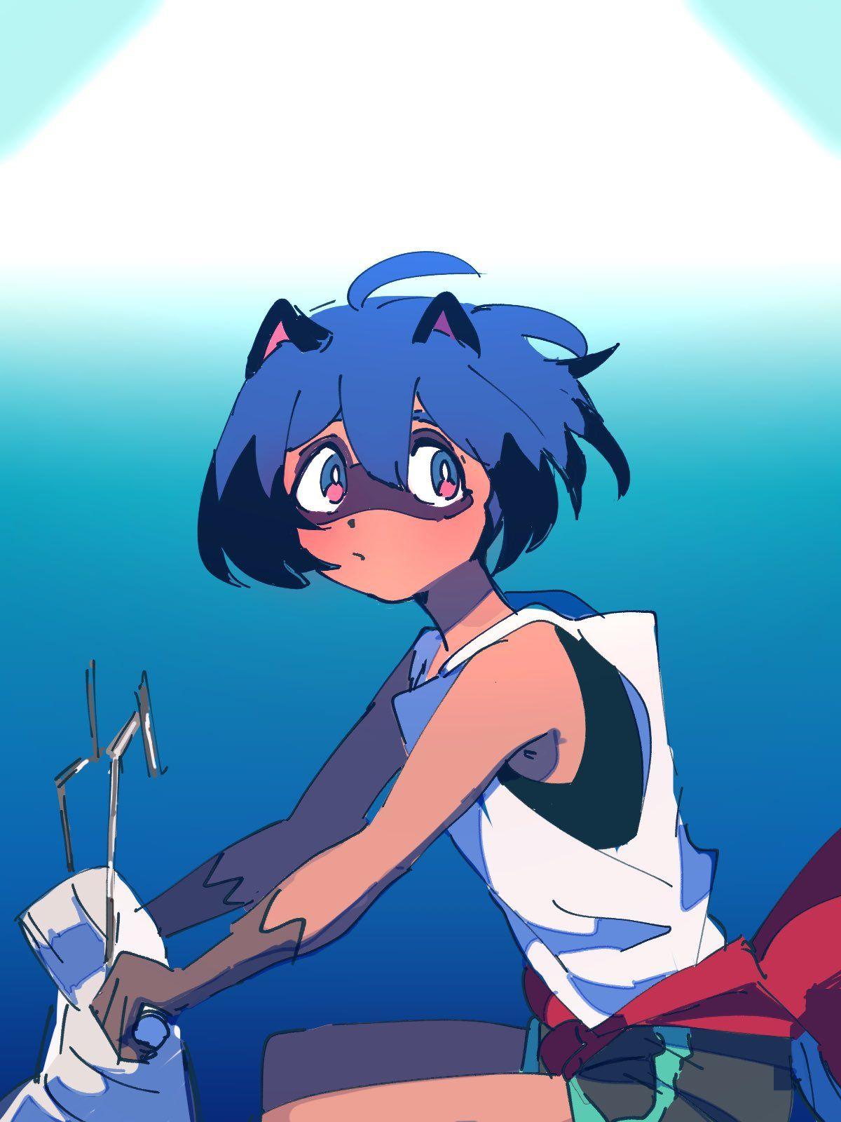 いよかん on Twitter in 2020 Anime maid, Anime, Furry