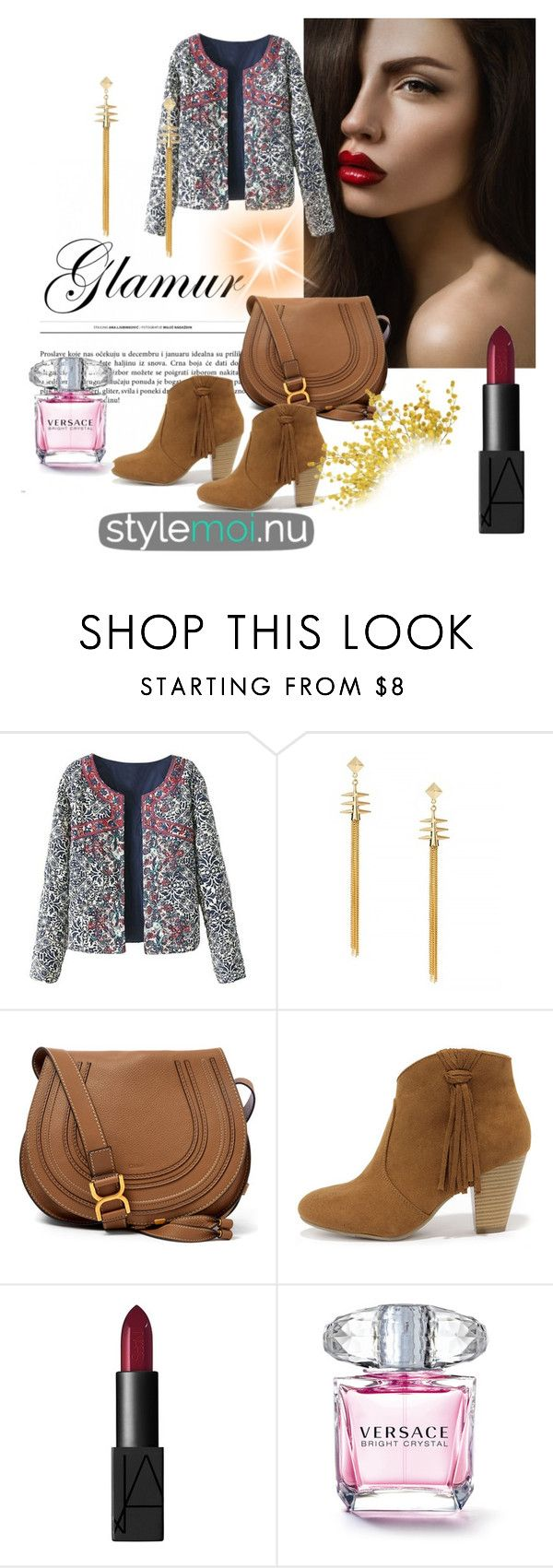"""Stylemoi 1"" by nermina-hasic ❤ liked on Polyvore featuring Chloé, Report, NARS Cosmetics and stylemoi"